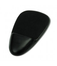 """Safco SoftSpot 7-1/2"""" x 13"""" Nonskid Mouse Pad with Wrist Rest, Black"""