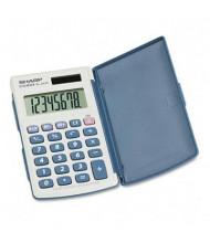 Sharp EL-243SB Solar 8-Digit Pocket Calculator