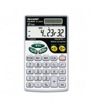 Sharp EL344RB Metric Conversion 10-Digit Wallet Calculator