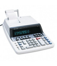 Sharp QS-2760H Two-Color Commercial Ribbon 12-Digit Printing Calculator