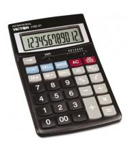 Victor 1180-3A Antimicrobial 12-Digit Desktop Calculator