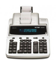 Victor 1240-3A Antimicrobial Two-Color 12-Digit Printing Calculator