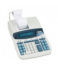 Victor 1260-3 Two-Color Heavy-Duty 12-Digit Printing Calculator