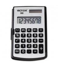 Victor 908 Portable 8-Digit Pocket/Handheld Calculator