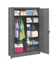 Tennsco Jumbo Combination Storage Cabinets (Medium Grey)