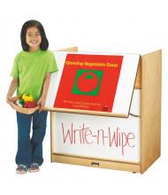 """Jonti-Craft 30"""" W Write-n-Wipe Dry Erase Mobile Big Book Easel"""