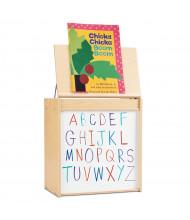 """Jonti-Craft Young Time 24"""" W Write-n-Wipe Dry Erase Big Book Easel"""