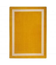Joy Carpets Portrait Classroom Rug, Goldenrod