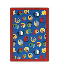 Joy Carpets Children of the World Rectangle Classroom Rug