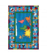 Joy Carpets Let the Children Come Classroom Rug