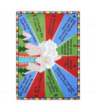Joy Carpets Ten Commandments Classroom Rug