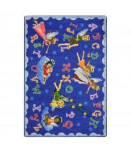 Joy Carpets Angel Alphabet Classroom Rug