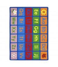 Joy Carpets Any Day Alphabet Classroom Rug, Primary