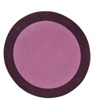 Joy Carpets All Around Classroom Rug, Purple (Shown in Round)