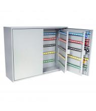 DuraBox 600 Position Key Cabinet with Key Lock, Light Grey