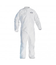 KleenGuard A30 Elastic-Back Coveralls, White, 2X-Large, 25/Pack