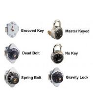 Gravity Locks do not work with Box Lockers.