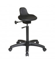 Office Star Work Smart Seat Angle Adjustment Saddle Stool