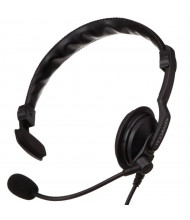 Kenwood Single Muff Headset with In-Line PTT for ProTalk Two-Way Business Radios