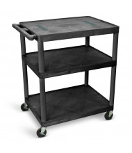 Luxor 3-Shelf Endura Presentation AV Carts