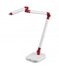 "Black & Decker PureOptics 29.5"" H LED Architect Desk Lamp, White"