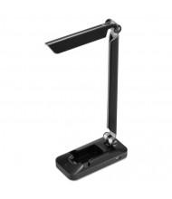 """Black & Decker 17.5"""" H LED Fold Desk Lamp, Black"""