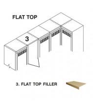 Tennsco Locker Flat Top Fillers