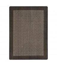 Joy Carpets Like Home Classroom Rug, Chocolate