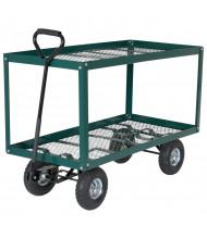 Vestil Two Shelf Landscaping Cart
