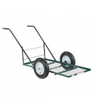Vestil LSC-2448-TC Low Profile Tilt Landscaping Cart