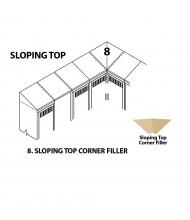 Tennsco Sloping Top Corner Fillers (Shown in Sand)