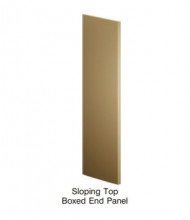 Tennsco Slope Top Boxed End Panels