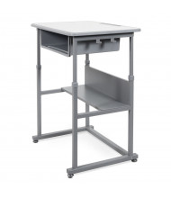 "Luxor 28"" W x 20"" D Sit-Stand Student Desk"