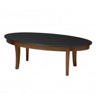 "Mayline Midnight M103C 48"" W Coffee Table, Bourbon Cherry"