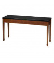 "Mayline Midnight M103X 60"" W Sofa Table, Bourbon Cherry"