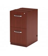 Mayline Aberdeen AFF26 2-Drawer File/File Desk Pedestal Cabinet (Shown in Cherry)