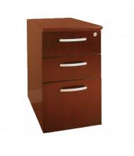 Mayline Napoli NBBF 3-Drawer Box/Box/File Pedestal Cabinet (Shown in Sierra Cherry)