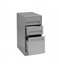 Tennsco Modular Cabinets for Modular Workbenches - MD3-1524 shown in Medium Grey