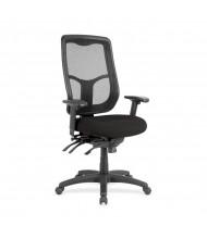 Eurotech Apollo MFHB9SL Ratchet Mesh-Back Fabric High-Back Task Chair