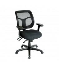 Eurotech Apollo MFT9450 Multifunction Mesh-Back Fabric Mid-Back Task Chair