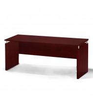 "Mayline Medina MNCNZ72 72"" W Floating Straight Front Office Desk Credenza (mahogany)"