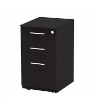 Mayline Medina MNRBBF 3-Drawer Box/Box/File Pedestal Cabinet (Shown in Mocha)