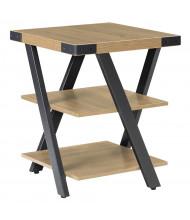 """Safco Mirella 20"""" Square End Table (Shown in Tan)"""