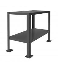 Durham Steel Machine Table Steel Workbenches 3000 lb Capacity