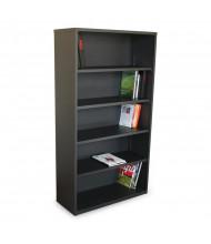 Marvel Ensemble MSBC536 5-Shelf Steel Bookcase (Shown in Dark Neutral)