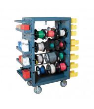 Durham Steel Heavy-Duty 1200 lb Load Wire Spool Cart