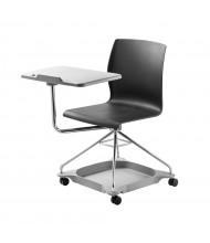 "NPS CoGo Mobile 13.75"" x 19.5"" Tablet Arm Student Desk Chair (Shown in Black)"