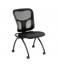 Eurotech Flip NT1000 Mesh-Back Fabric Nesting Folding Guest Chair