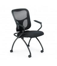 Eurotech Flip NT5000ARM Mesh-Back Fabric Nesting Folding Guest Chair