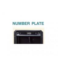 Tennsco Locker Name/Number Plate